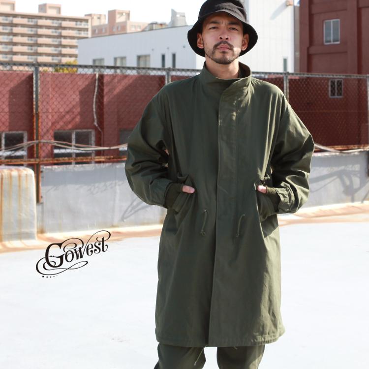 大特価放出! GOWEST Satin go west go ゴーウエスト west アウター コート BRIGHTON COAT/ CORDURA Back Satin:BrownFloor clothing, COX ONLINE SHOP:3291b294 --- nagari.or.id
