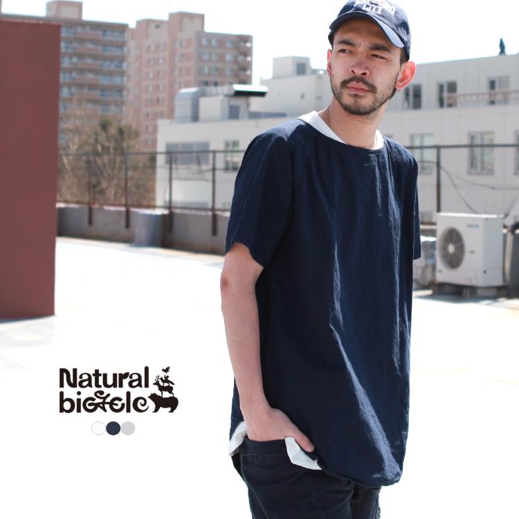 ナチュラルバイシクル Naturalbicycle トップス スモック Cotton Linen Smock【MADE IN JAPAN series】