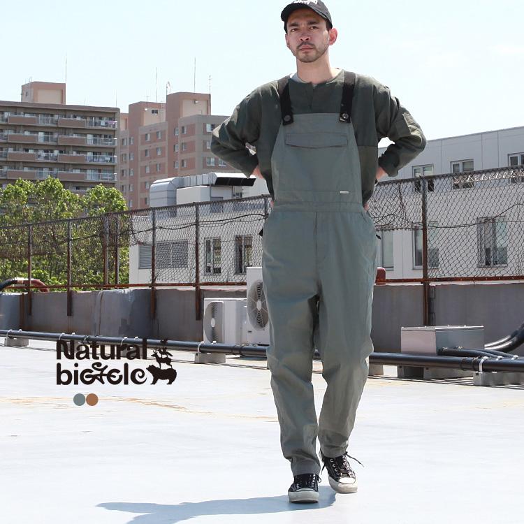 オーバーオール パンツ ナチュラルバイシクル Naturalbicycle ナチュラルバイシクル Naturalbicycle オーバーオール パンツ NANNEN Overalls【MADE IN JAPAN series】
