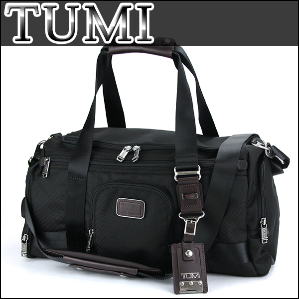トゥミボストンバッグ Tumi 22351 Hkh Bag Alpha Bravo Maxwell Gym Men Hickory Black