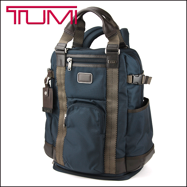 Arjun Tumi Backpack 222380 Bag Alphabravor Alpha Bravo Tote Mens Navy Blue A4 Size Can Accommodate Business