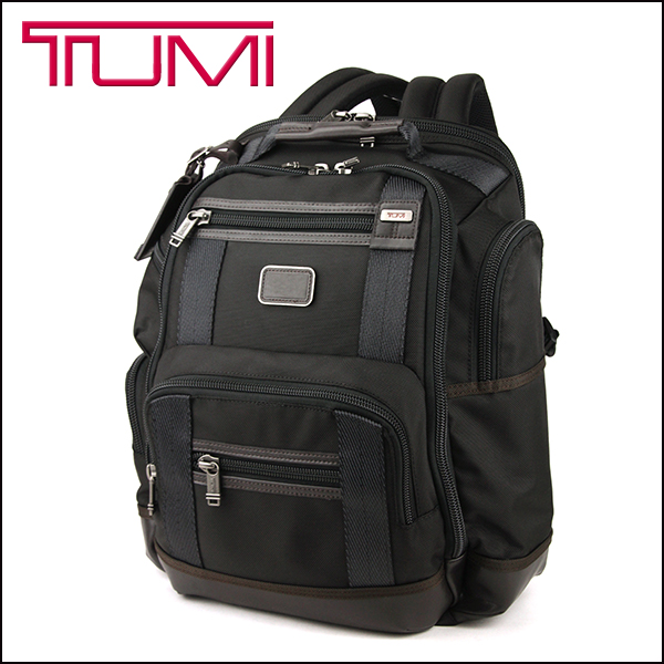 Tumi Backpack 222382 Bag Alpha Bravo Kingsville Alphabravor Deluxe Men S Hickory Black