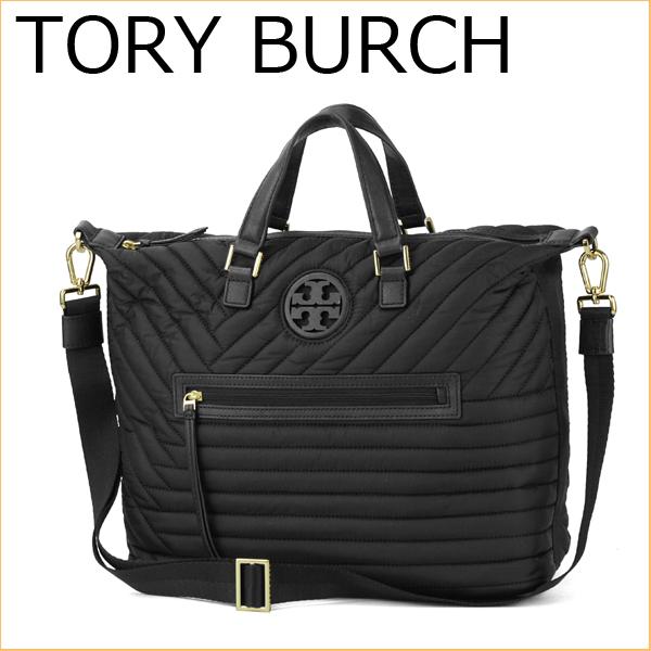 f9a8e949a72 Tory Birch shoulder bag 001 TORY BURCH 31159505 bag QUILTED NYLON BACKPACK  ladies BLACK black black handbag 2WAY simple luxury