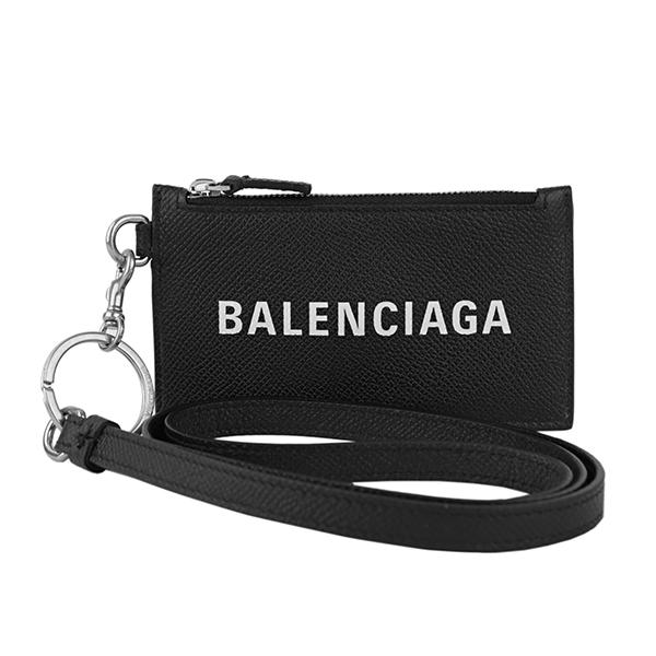 バレンシアガ カードケース BALENCIAGA 594548 0OTV3 1090 ブランド小物 キャッシュ CASH CARD HOLDER ユニセックス NOIR(ノワール)/L BLANC(エルブラン) ブラック 黒【 送料無料】