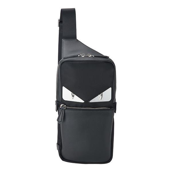 フェンディ ウエストバッグ・ボディバッグ FENDI 7VZ033 A2FT F0GXN バッグ バッグ バグズ アイ BAG BUGS EYE BELT BAG メンズ BLACK ブラック 黒 モンスター オッキ カジュアル【 送料無料】