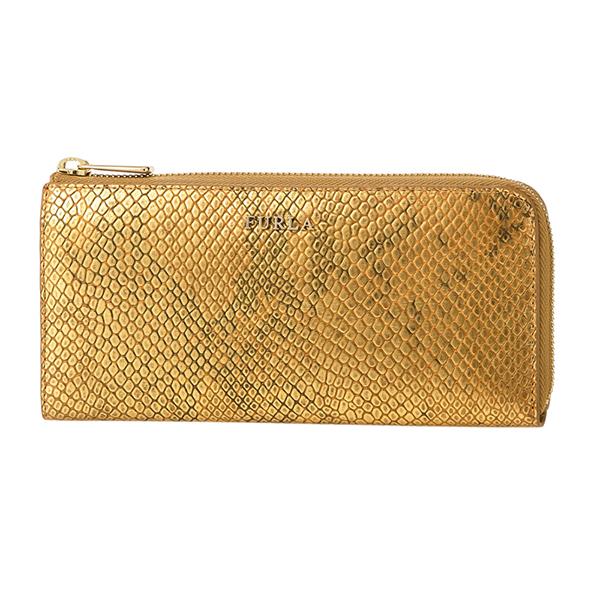 フルラ 長財布 FURLA PO41 VPM 841602 財布 バビロン BABYLON CORNER ZIP WALLET レディース GOLD ゴールド【 送料無料】:ブランドストリートリング