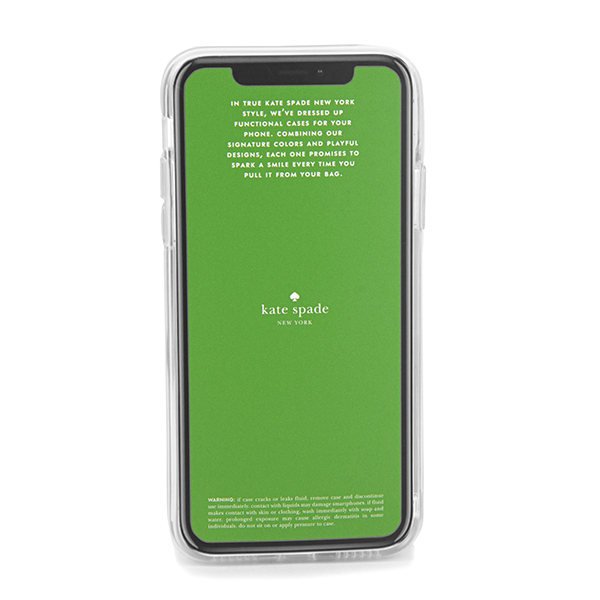 Kate spade iPhone X/iPhone XS smartphone case kate spade 8ARU2634 974 brand  accessory eyephone case IPHONE CASES POOL AND FLOATIES Lady's MULTI Maruti