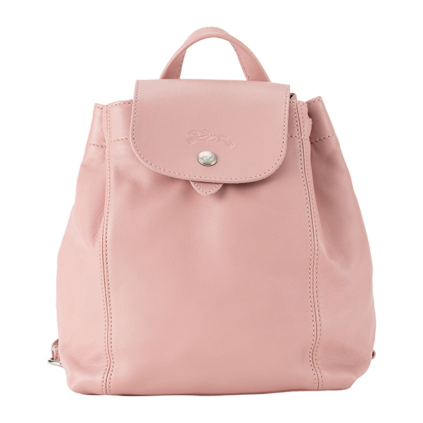 59a6e4503ca5 ロンシャン リュックサック LONGCHAMP 1306 1306 1306 737 A80 バッグ ル・プリアージュ キュイール LE PLIAGE  CUIR BACKPACK XS レディース BLUSH ピンク ドロー ...