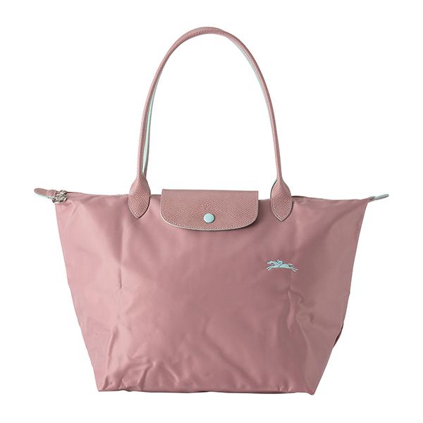 55408b9cc201 レディース LONGCHAMP 1899 619 P13 ロゴ 【 送料 (ボアドローズ) BOIS DE ROSE シンプル ピンク