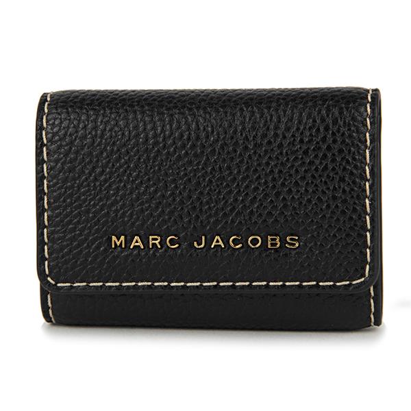 マークジェイコブス キーケース MARC JACOBS M0014001 001 ブランド小物 ザ グラインド THE GRIND レディース BLACK ブラック 黒 メタルロゴ 6連 スタイリッシュ【 送料無料】