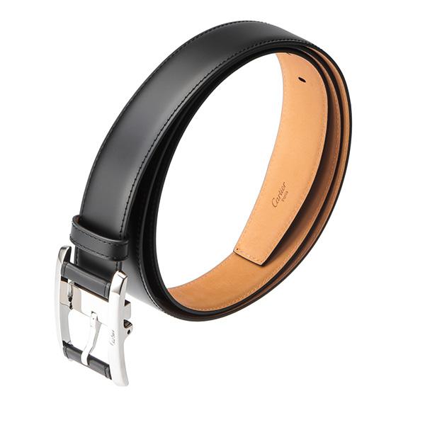 Cartier CARTIER belts brand accessory masculine MASCULINE TANK AM? RICAINE L5000512 mens black Black simple formal adult