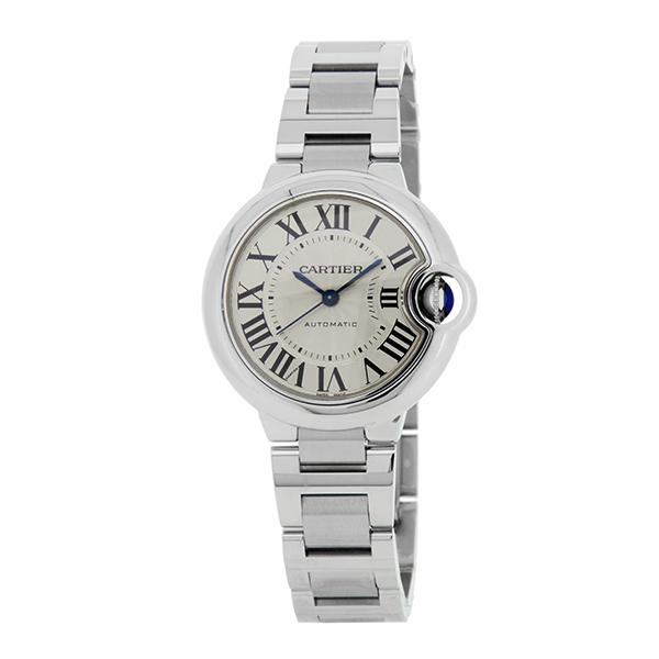 カルティエ 腕時計 CARTIER W6920071 ブランド小物 バロン ブルー ドゥ カルティエ BARRON BLEU DE CARTIER BOXなしアウトレット レディース SILVER シルバー 銀【 送料無料】