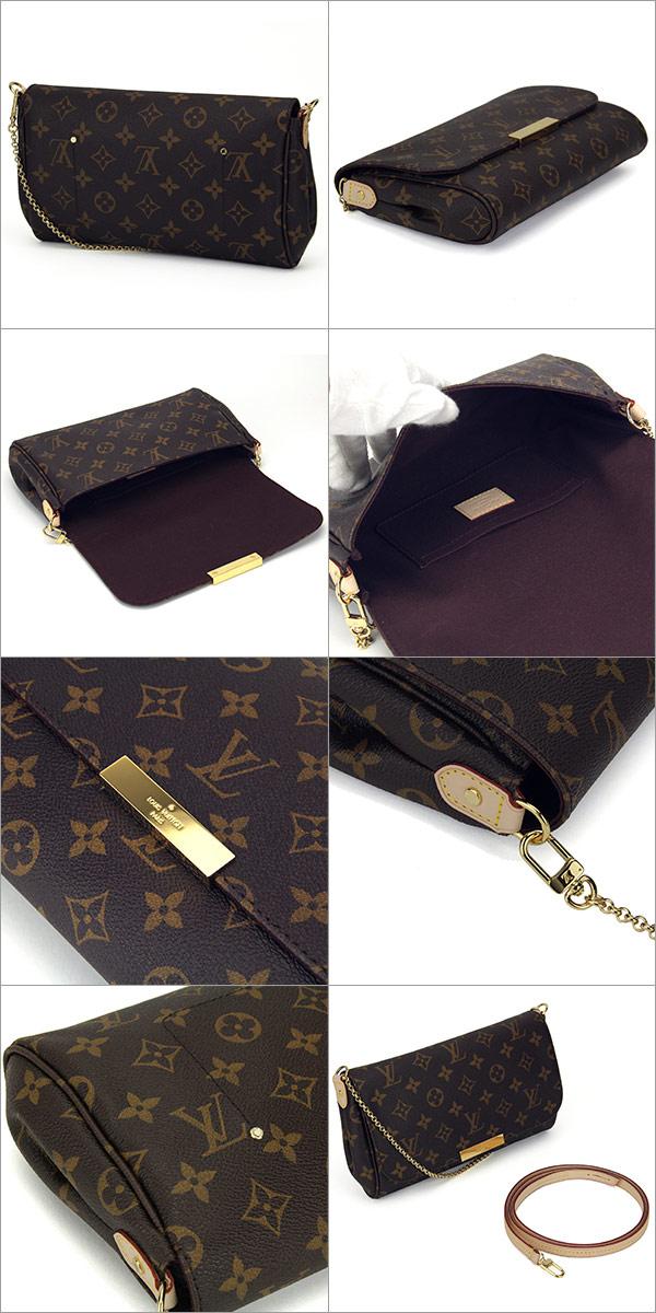 734b68ea58f6 Louis Vuitton Louis Vuitton Monogram clutch favorite MM M40718 bag handbag  Womens Monogram Brown