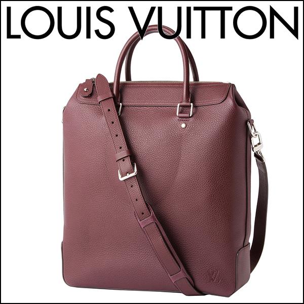 ルイヴィトン トートバッグ Louis Vuitton M94475 バッグ ジップド・トート メンズ ボルドー ワインレッド【 送料無料】