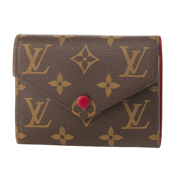 ルイヴィトン(LouisVuitton)モノグラムMONOGRAMM41938財布2つ折り財布コンパクトミニ財布手のひらサイズ