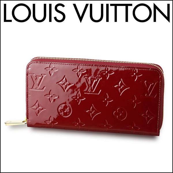 ルイ・ヴィトン(LouisVuitton)モノグラムヴェルニMONOGRAMVERNISM90218財布長財布(ラウンドファスナー)