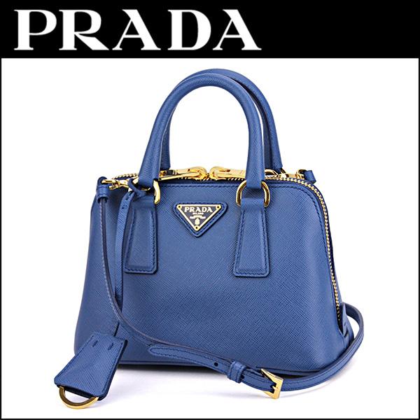 0236757e582f Prada handbags PRADA BL0851 NZV F0013 bag saffiano Lux SAFFIANO LUX ladies  AZZURRO (Azzurro)