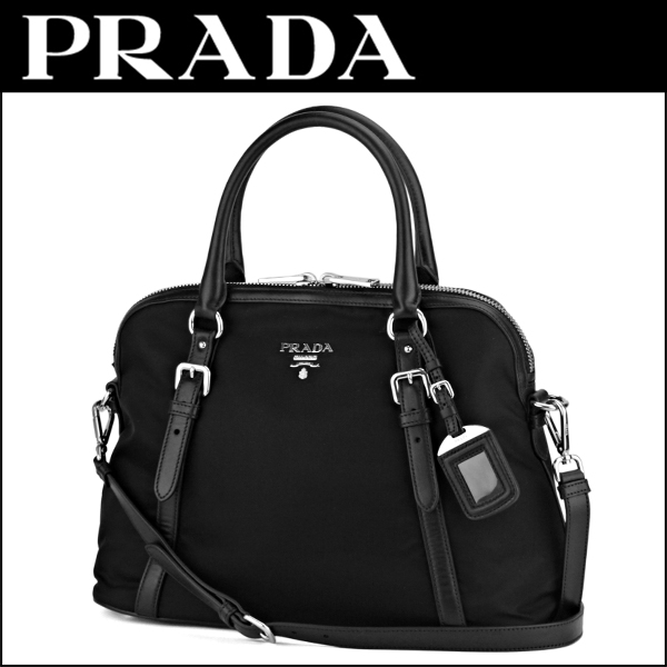 21bb2b96c181 Prada handbags PRADA BL0912 QXO F0002 bag testosoftcarf TESSUTO SOFT CALF  women s NERO (Nero) black black shoulder bag 2 WAY A4 storage can be simple  chic