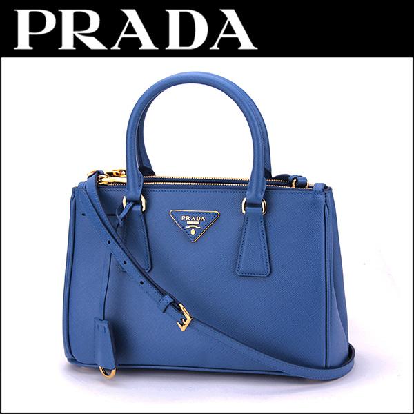 a08f4e54d707 Prada PRADA saffiano Lux SAFFIANO LUX BN2316 NZV F0013 bag handbag ladies  AZZURRO (Azzurro) Blue Blue shoulder bag 2-WAY