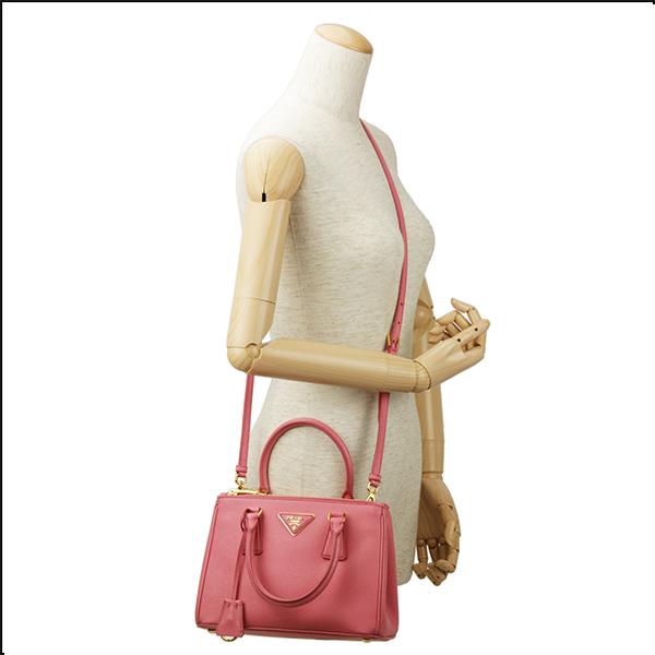 Prada PRADA saffiano Lux SAFFIANO LUX BN2896 NZV F0410 bag handbag ladies GERANIO (Geranio) pink shoulder bag 2-WAY