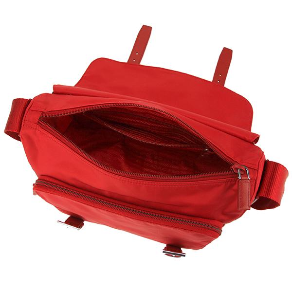 プラダ ショルダーバッグ PRADA BT0953 ZOT F0011 バッグ テスート TESSUTO レディース RED レッド 赤送料無料CerBoQdxWE