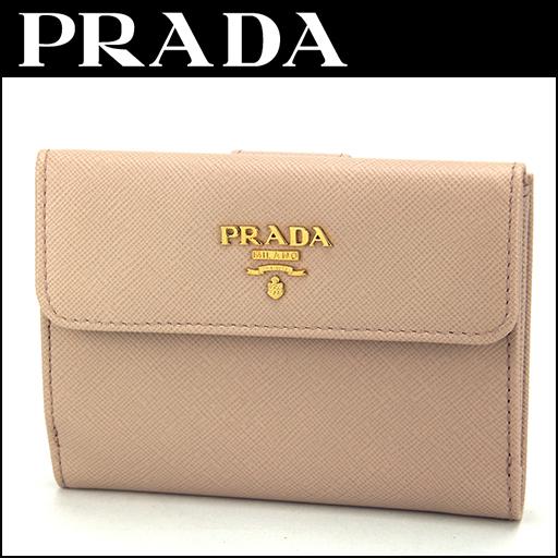 新しいスタイル プラダ 2つ折り財布 PRADA 1M0523 1MH523 財布 サフィアーノ メタル SAFFIANO METAL レディース CIPRIA ピンクベージュ【 送料無料】, ヤマグチムラ 3e9a523e