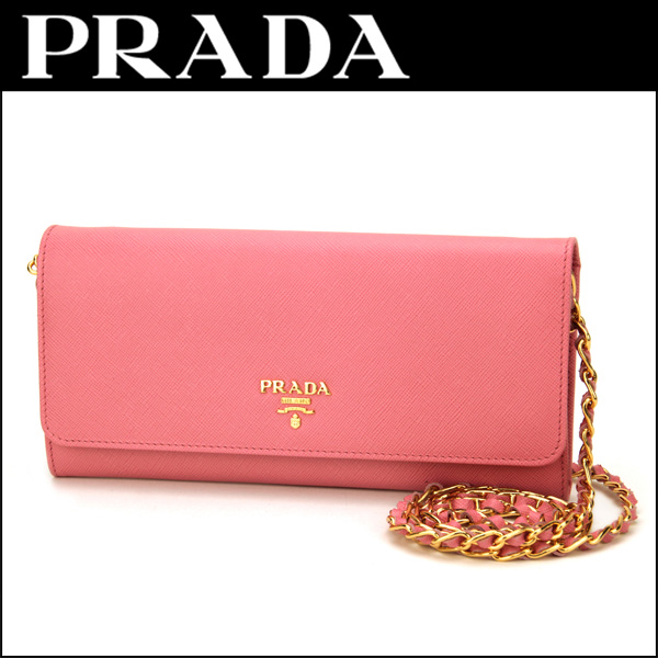 68e5897cf65129 Prada PRADA saffiano metal 1M1290 SAFFIANO METAL wallet and accessories  long wallet ladies GERANIO (Serrano ...