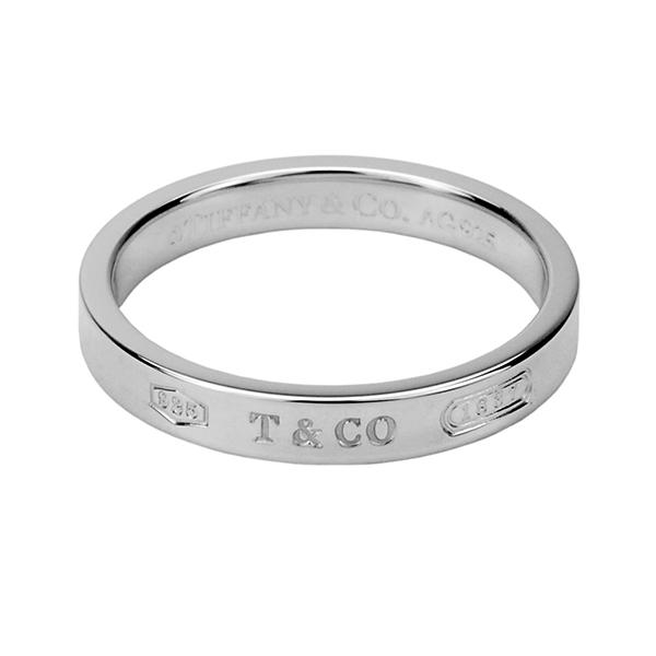 【最大3000円OFFクーポン配布中】 ティファニー リング TIFFANY アクセサリー 1837 ナローリング natrrow ring 4mm幅 レディース スターリング シルバー sterling silver ペアリングOK 指輪【 Tiffany&Co 送料無料】