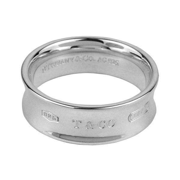 los angeles 509b6 bc517 ティファニー リング TIFFANY アクセサリー 1837 リング ring 7mm幅 レディース スターリング シルバー sterling  silver ペアリングOK 指輪【 Tiffany&Co 送料無料】|ブランドストリートリング