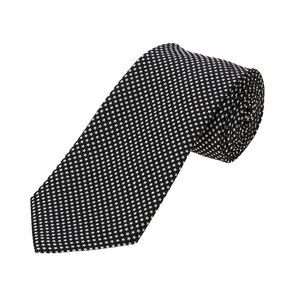 【最大3000円OFFクーポン配布中】 ポールスミス ネクタイ PAUL SMITH 552M AX53 79 ブランド小物 シルクタイ SILK TIE 8CM BLADE メンズ BLACK ブラック 黒 星柄 スタードット ビジネス【 送料無料】