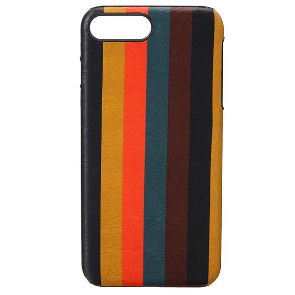【ポイント5倍★2/24(日)23:59まで】ポールスミス iPhone7 Plus/iPhone8 Plus スマートフォンケース PAUL SMITH M1A 5572 A40023 96 ブランド小物 ブライトストライプ BRIGHT STRIPE IPHONE 7+/8+ CASE メンズ MULTI マルチ アイフォン7プラス/8プラス ポップ スマホケース