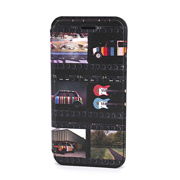 【ポイント5倍★2/24(日)23:59まで】ポールスミス iPhone6/6S/7/8 スマートフォンケース PAUL SMITH M1A 5818 A40284 PR ブランド小物 ミニフィルムストリップ MINI FILM STRIP IPHONE WALLET CASE ユニセックス MULTI マルチ 手帳型 スマホケース アイフォン8 メンズ スタ