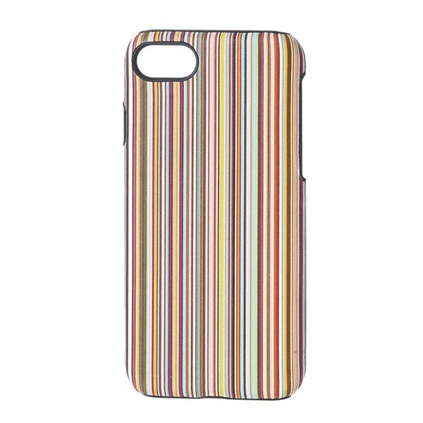 ポールスミス iPhone7/iPhone8 スマートフォンケース PAUL SMITH AUXC 5173 W810A 92 ブランド小物 シグネチャーストライプ SIGNATURE STRIPE IPHONE 7 CASE ユニセックス MULTI マルチ スマホケース アイフォン7/8 メンズ スタイリッシュ スマホケース アイフォーンケース