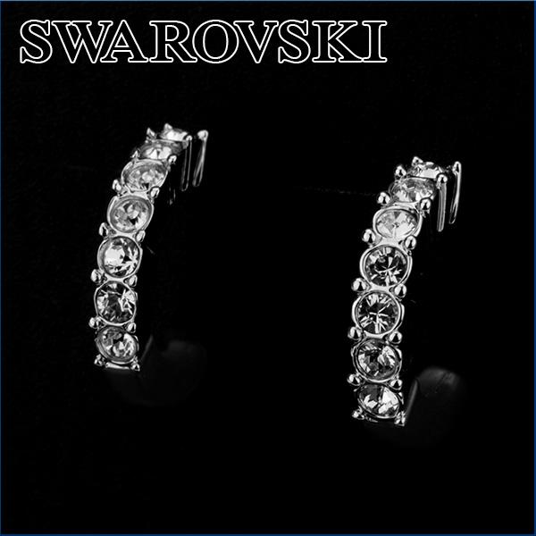스와로브스키 귀걸이 SWAROVSKI 956725 액세서리 BETH 피어 싱 여자 SILVER (실버) 실버 라인 크리스탈