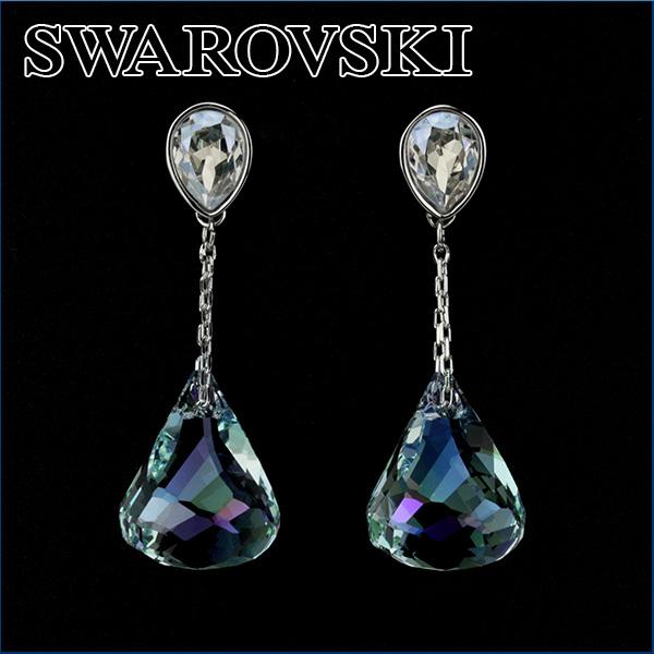 Swarovski Pierced Earrings 1119274 Accessories Lunar Lady S Blue Is