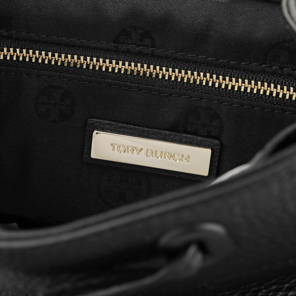 61d457a0431 Tolly Birch rucksack TORY BURCH 55367 009 bag tear THEA MINI BACKPACK  Lady's BLACK black black