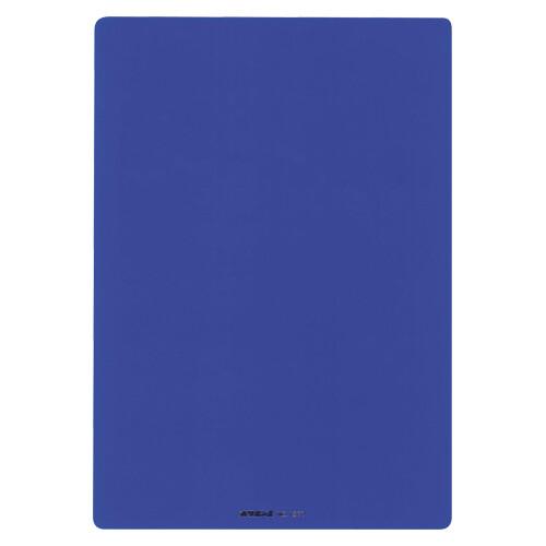 共栄プラスチック A4 激安価格と即納で通信販売 透明下敷 ブルー 全国一律送料無料 NO.1377-B 送料無料※600円以上 メール便発送 -