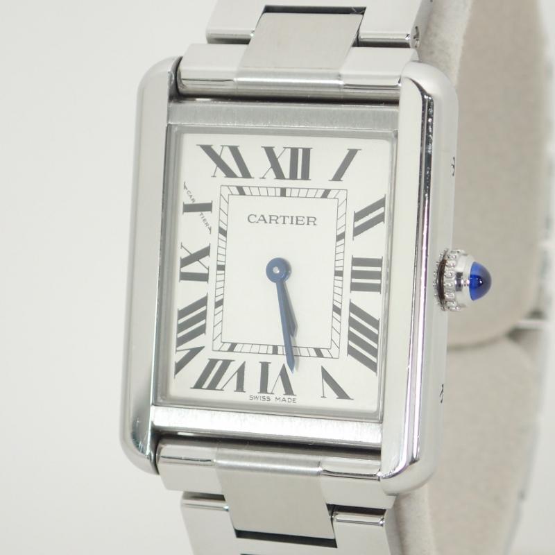 カルティエ【CARTIER】タンクソロSMレディースクォーツSS*W5200013腕時計【中古】