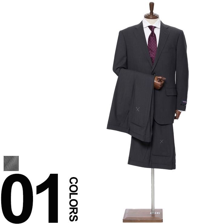HYBRIDBIZ (ハイブリットビズ) 2WAY ストレッチ ウォッシャブル スーツ SUPER MOVE 2PPメンズ 紳士 男性 ビジネス スーツ 2パンツ ストレッチ ストライプ シンプル 【SB22N785BEAT】