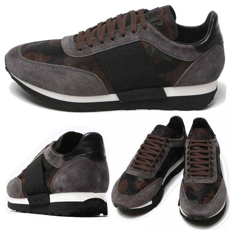 モンクレール MONCLER ロゴ 迷彩柄 ローカットスニーカー HORACE オラース ブランド メンズ 男性 ファッション 靴 シューズ スニーカー カモフラ 【MC1019100019CZ】 【dl】brand