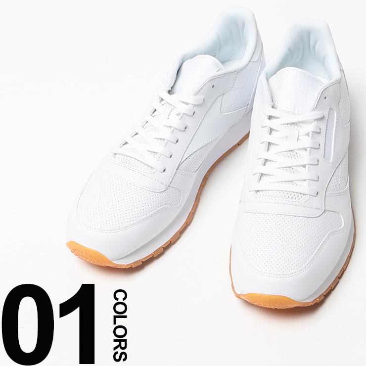 大きいサイズ メンズ Reebok (リーボック) Reebok CLASSIC LEATHER ロゴ クラシックレザー スニーカー [29.0 30.0 cm] サカゼン ビッグサイズ カジュアル 靴 シューズ スポーツ レザー(送料無料 カジュアルスニーカー メンズスニーカー 紳士靴 カジュアルシューズ)