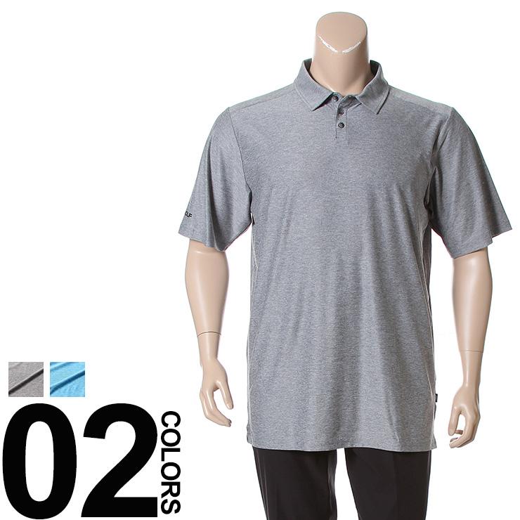 大きいサイズ メンズ SKECHERS (スケッチャーズ) ストレッチ ロゴ 半袖 ゴルフ ポロシャツ [1XL 2XL] サカゼン ビッグサイズ カジュアル トップス ポロ スポーツ 機能性