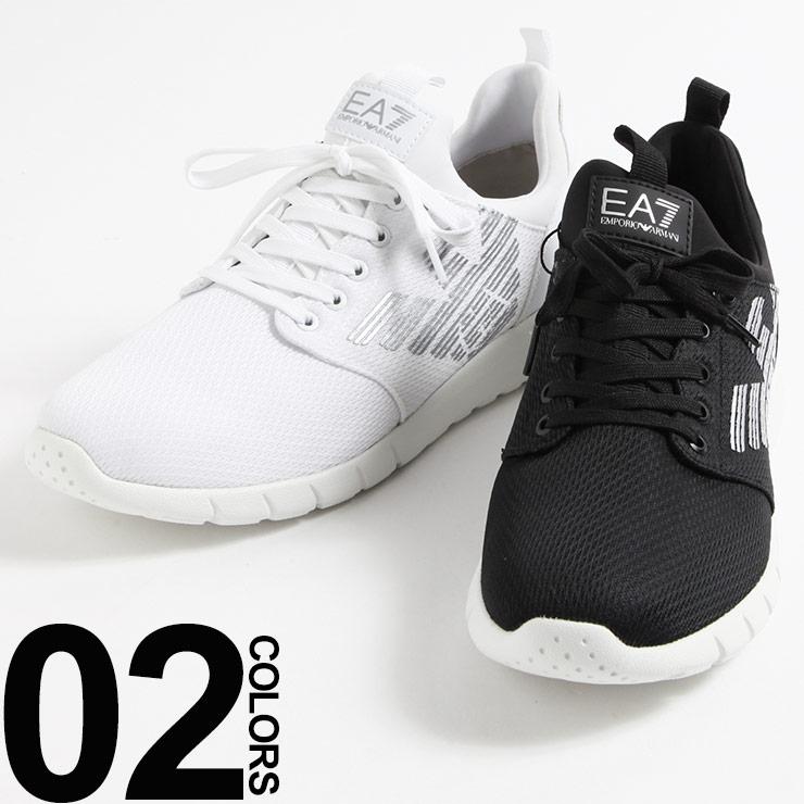 エンポリオアルマーニ EMPORIO ARMANI EA7 スニーカー メッシュニット ブランド メンズ 靴 シューズ EA248050CC299 【dl】brand
