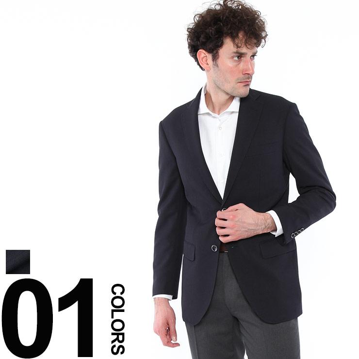 VITTORIO VENETO (ヴィットリオ・ヴェネト) 無地 シングル 二つ釦 トラベル ジャケットNA361910C18S579メンズ 紳士 男性 ビジネス アウター ジャケット