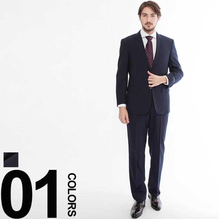 HYBRIDBIZ (ハイブリッドビズ) HYBRID MOVE シングル 二つ釦 ノータック 2パンツ スーツ 18SS3AR2015YABATメンズ 紳士 男性 ビジネス シングルスーツ 無地
