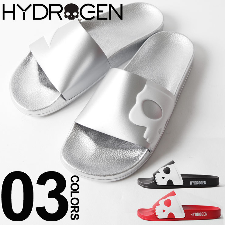 ハイドロゲン HYDROGEN スライドサンダル スカル シャワーサンダル ブランド メンズ フットウェア ビーチ HY225910