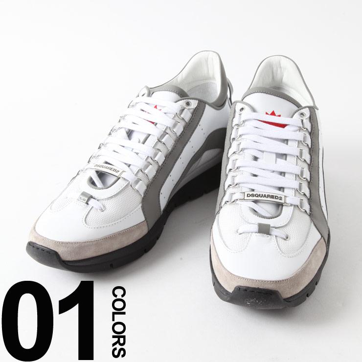 ディースクエアード DSQUARED2 スニーカー レザー サイドライン スニーカー ブランド メンズ 靴 シューズ D2SNM04041306