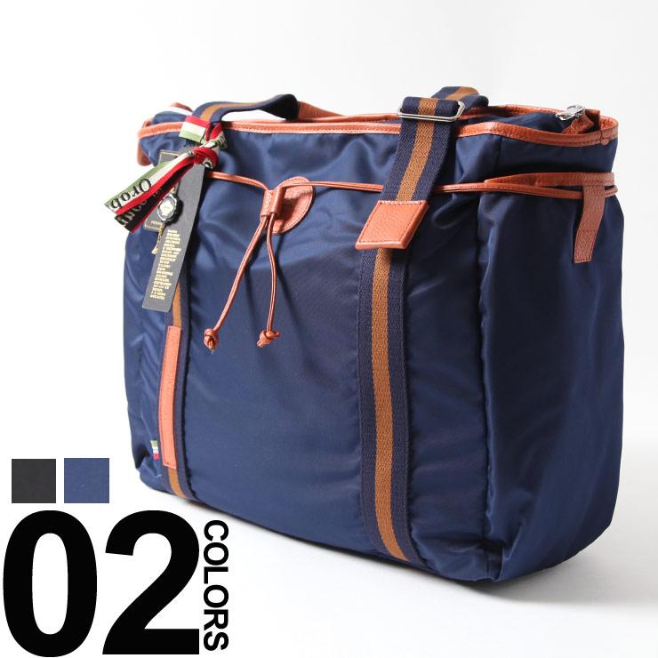 オロビアンコ Orobianco トートバッグ ブランド メンズ ショルダーバッグ ナイロン レザー ビジネス OBARINNA8F ブランド