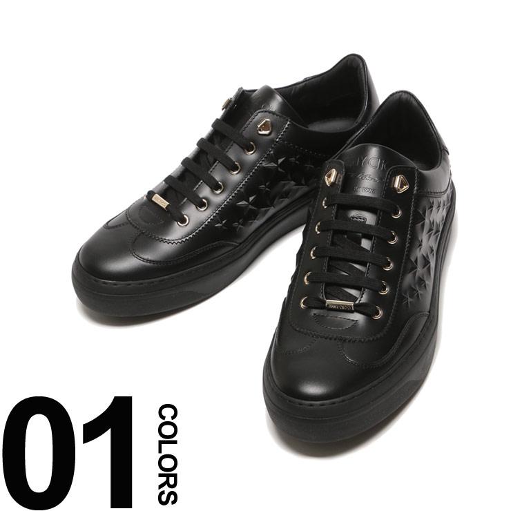 ジミーチュウ JIMMY CHOO スニーカー レザー エンボススター ローカット ACE メンズ ブランド 靴 シューズ 星 ロゴ JCACEAOA