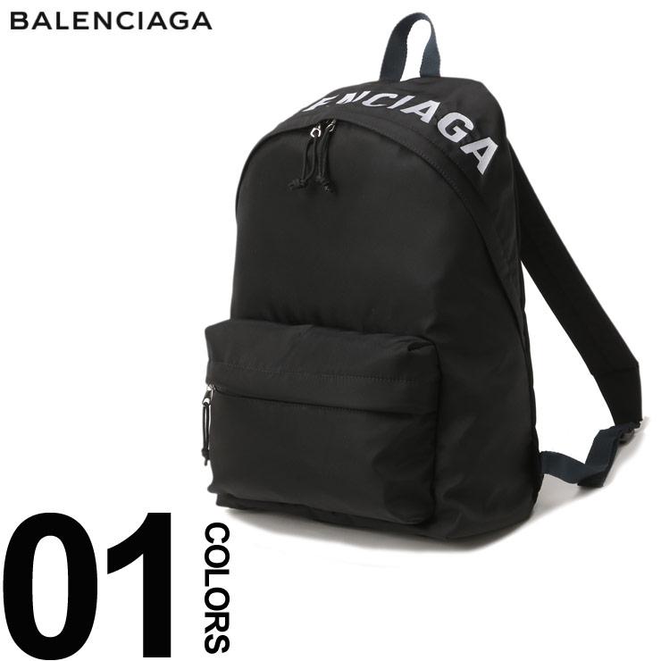 BALENCIAGA (バレンシアガ) ナイロン ロゴ刺繍 バックパックブランド メンズ 男性 カジュアル ファッション 小物 バッグ 鞄 リュック シンプル 【BC5251629F91X】